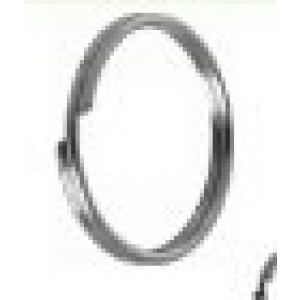 Anello in acciaio per chiavi diam. ø 25 mm. in conf. da 100 pezzi. Silence