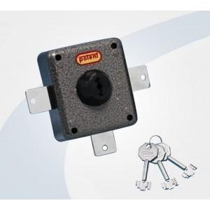 Deviatori per aste con cilindro e pomolo  a pompa a due punti di chiusura   Potent