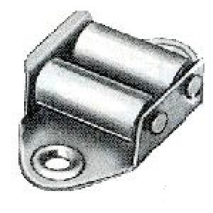 Guidacinghie per persiane e tapparelle con rulli in nylon   ART 1002   Vulcania