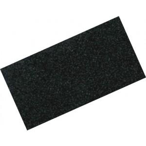 Alzatina in alluminio rivestita con plastica nera asta da 4,10 mt    Art.  15000F20