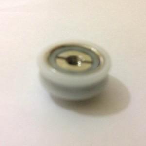 Cuscinetti per box doccia ruota con con gola diam mm ø 184