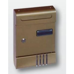 Casellario per posta da esterno Armony  silver   205x290x65