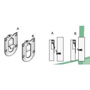 Attaccaglie metalliche   per pensili   ART 4577.A.20  Pozzi