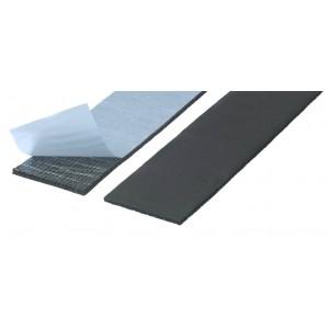 Guarnizione adesiva nera mod. Elestoflex mm 50 x 3, metri 5,  Mappy