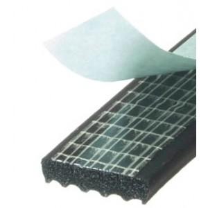 Guarnizione adesiva colore nero  mod. KRONSTIK profilo ad E mm.9X30 mt.100  Mappy