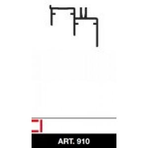 Binario inferiore per scorrevoli colore nero lungh. metri 3    S. Premier  Trenoscorrevoli