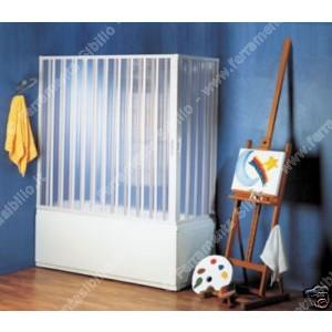 BOX VASCA PVC A SOFFIETTO 06 GINESTRA H150 L82X187