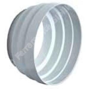 Cono di riduzione per canalizzazioni in ABS M/F Ø mm. 100-125 per tubo non bicchierato.  Edilplast