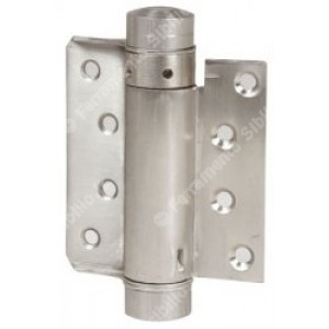 Cerniera a molla tipo bommer ad azione semplice ottonata largh. 75 mm    IBFM