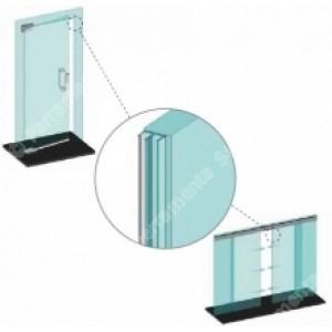 GUARNIZIONI GLASS LIP ADESIVA L=3000