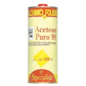 Acetone puro in confezione  da litri 5     Italchimici