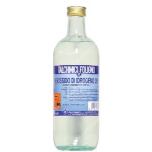 Acqua ossigenta 130 Volumi in confezione da un litro      Italchimici