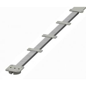 Asta raddrizzante  altezza mm 2250   copertura in alluminio acciaio    Terno scorrevoli