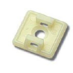 Base nat per fascette in  PVC L27 1VIA 4.8     Elematic