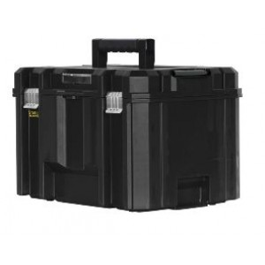 Cassetta porta attrezzi con vaschetta estraibile  Gran volume Tstak  Fatmax  cm 44x32x30     Stanley