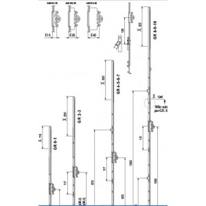 A401101504 F2 CREMONESE ANTA RIBALTA GR4 1000-1200 E15