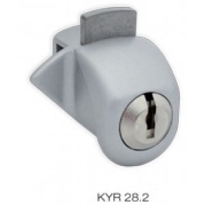serratura da applic p/vetro c/2 ka  kyra 28.ni.al.ka