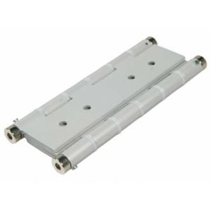 Cerniera in alluminio verniciato bianco ad azione doppia. Portata 2 cerniere Kg. 35/40    IBFM