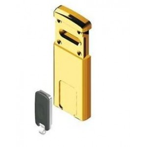 Defender magnetico Minimag ottone con 2 chiavi magnetiche. Per serrature con chiave a doppia mappa   Disec