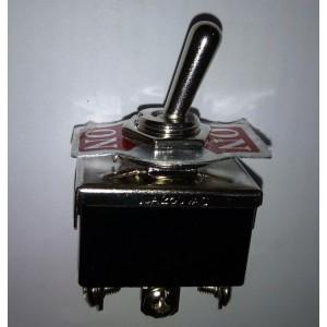 Deviatore doppio a leva 0-On 15 Amp.125V Ac      Gbc