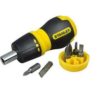 Cacciavite nano a cricchetto con inserti   PH1         Stanley