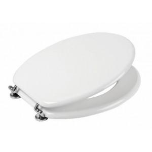 Sedile universale per Wc  in legno bianco ,   mod. Opera
