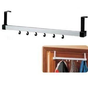 Appendiabiti per porte in alluminio  lunghezza cm 60   Pendy 210