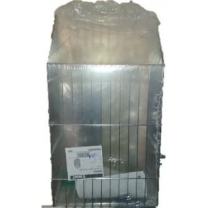 Portabiancheria mod. KBPBCG in acciaio cromato lucido misura mm 32,5 x 24 x 57,5        mod. KBPBCG      VIBO