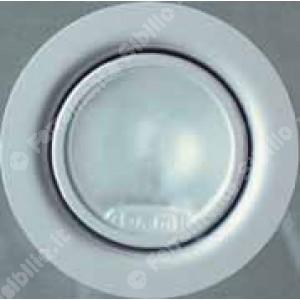 Faretto alogeno in metallo bianco 10/20 w  12v       Lampo