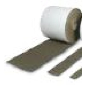 Feltro adesivo di colore marrone con altezza  di mm 30, spessore mm 3,5 mm, lunghezza rotolo mt.25    Italfeltri