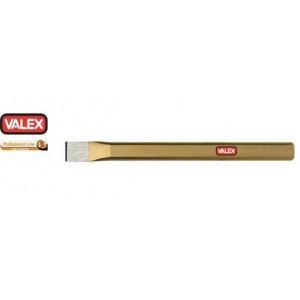Scalpello piatto  250 mm linea arancio       VALEX