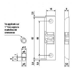 A400170118 F2 INCONTRO AGB SCROCCO 18X82X8 A4