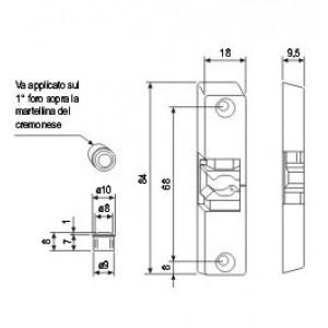 A400170618 F2 INCONTRO AGB SCROCCO 18X84X9.5 A12