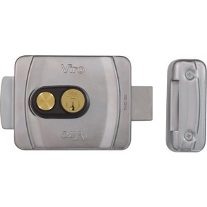 Serratura applicabile su portoni e cancelli pedonali o carrabili situati all'esterno, manuali o automatizzati  Viro