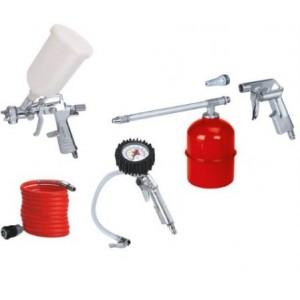 Set di  accessori per compressore n. pezzi 5        Einhell