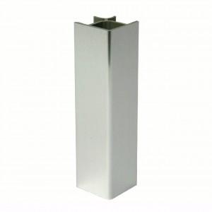 TERMINALI PER ZOCCOLATURA PVC H120 ALLUM 24EZK621208