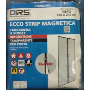 Kit zanzariera magnetica Ecco Strip 120 cm x 240 cm nero   Ecco